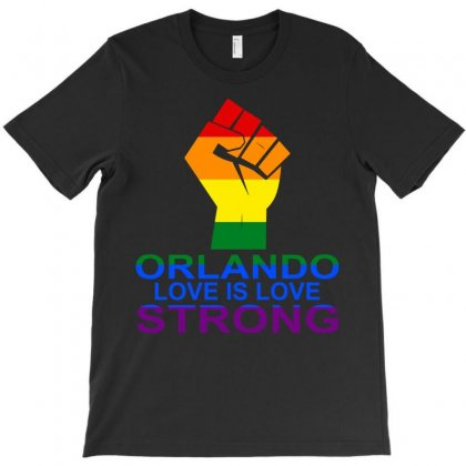 Love Is Love, Orlando Strong T-shirt Designed By Designbysebastian