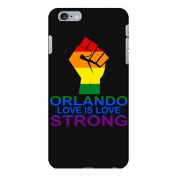 Love Is Love, Orlando Strong iPhone 6 Plus/6s Plus Case | Artistshot
