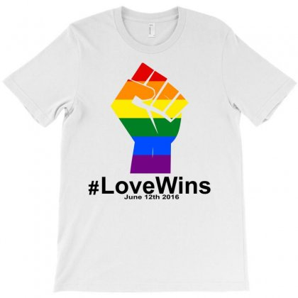 Love Wins 12th 2016 - Orlando Strong T-shirt Designed By Designbysebastian