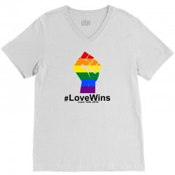 Love Wins 12th 2016 - Orlando Strong V-Neck Tee | Artistshot