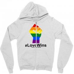 Love Wins 12th 2016 - Orlando Strong Zipper Hoodie | Artistshot