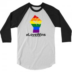 Love Wins 12th 2016 - Orlando Strong 3/4 Sleeve Shirt | Artistshot