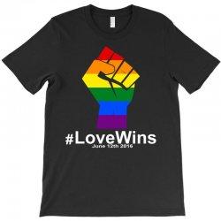 Love Wins 12th 2016 - Orlando Strong T-Shirt | Artistshot