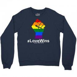 Love Wins 12th 2016 - Orlando Strong Crewneck Sweatshirt | Artistshot