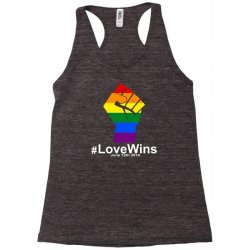 Love Wins 12th 2016 - Orlando Strong Racerback Tank | Artistshot