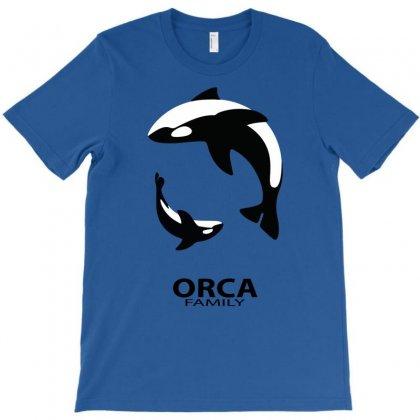 Orca Family T-shirt Designed By Designbysebastian