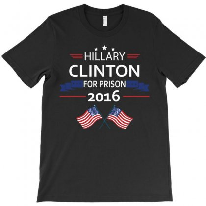 Hillary Clinton 2016 T-shirt Designed By Designbysebastian