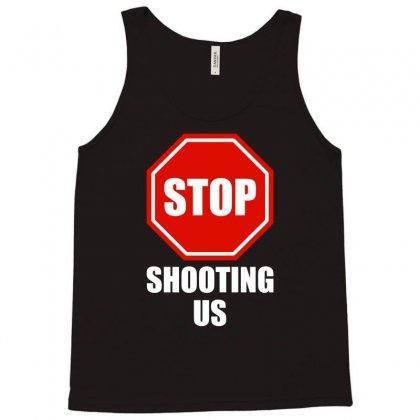 Stop Shooting Us - Black Lives Matter Tank Top Designed By Eugene