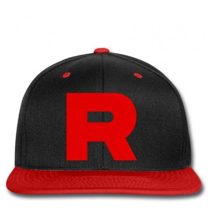 Team Rocket Embroidery Embroidered Hat Snapback