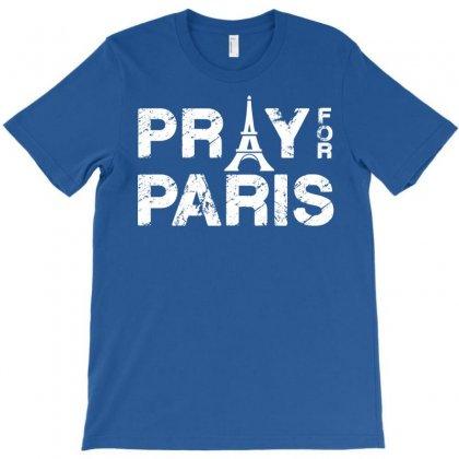 Pray For Paris T-shirt Designed By Eugene