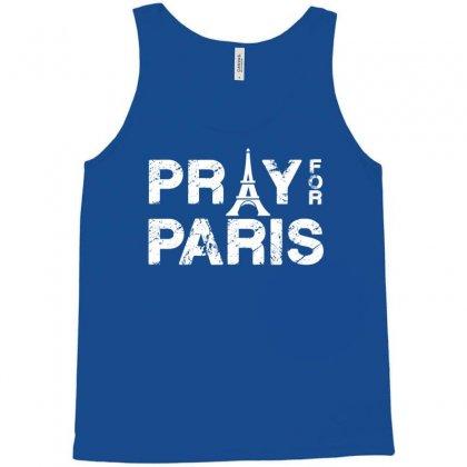 Pray For Paris Tank Top Designed By Eugene