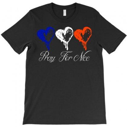 Pray For Nice T-shirt Designed By Eugene