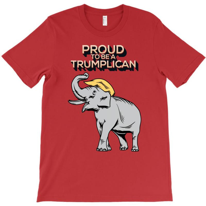 Proud To Be A Trumplican T-shirt | Artistshot