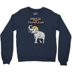 Proud To Be A Trumplican Crewneck Sweatshirt | Artistshot