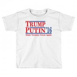 trump putin 2016 Toddler T-shirt   Artistshot