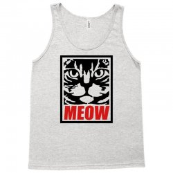 funny cat meow Tank Top   Artistshot