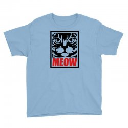 funny cat meow Youth Tee | Artistshot