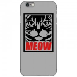 funny cat meow iPhone 6/6s Case   Artistshot