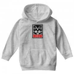 funny cat meow Youth Hoodie | Artistshot
