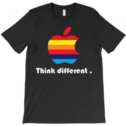 Apple Think Different T-shirt Designed By Designbysebastian