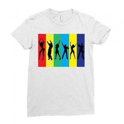 Rainbow Club Ladies Fitted T-shirt Designed By Designbysebastian