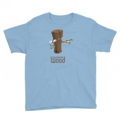 funny morning wood Youth Tee | Artistshot