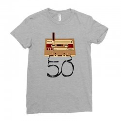 music tape retro Ladies Fitted T-Shirt | Artistshot