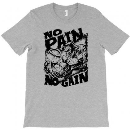 No Pain No Gain T-shirt Designed By Gematees