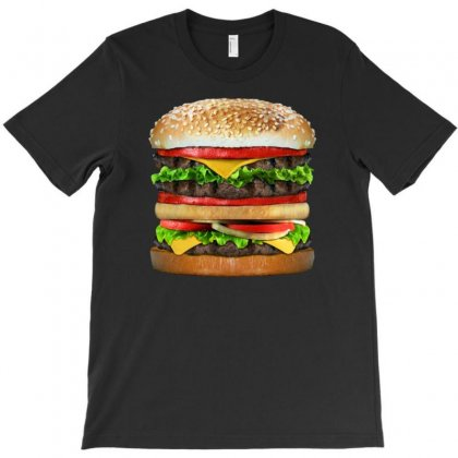 Tasty Delicious Burger T-shirt Designed By Gematees