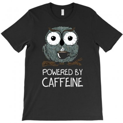 Caffeine Addict T-shirt Designed By Tonyhaddearts