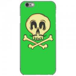 funny skull mustache iPhone 6/6s Case | Artistshot