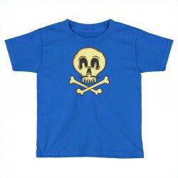 funny skull mustache Toddler T-shirt | Artistshot