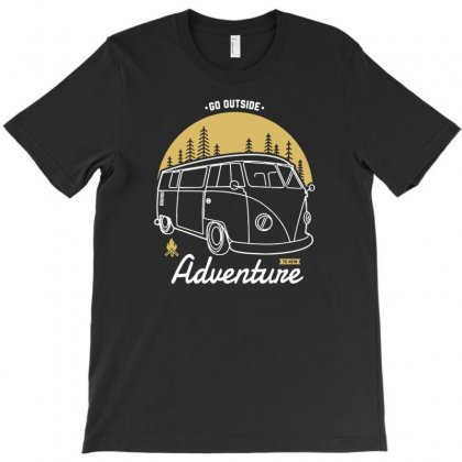 Go Outside To New Adventure T-shirt Designed By Tonyhaddearts