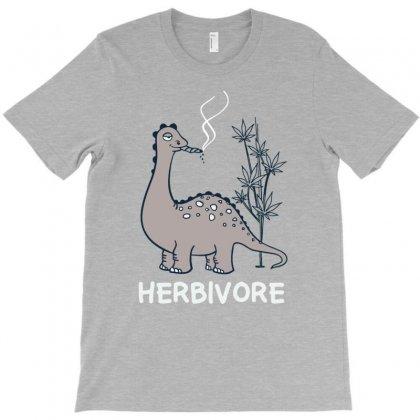 Herbivore Funny Dino T-shirt Designed By Tonyhaddearts