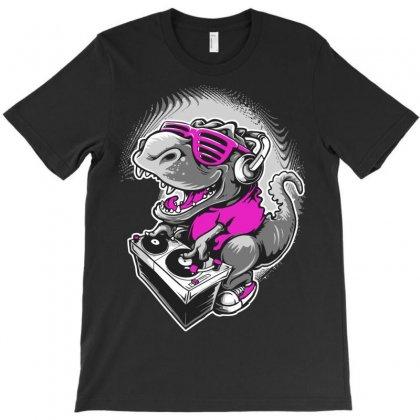 Dj Rex T-shirt Designed By Mdk Art