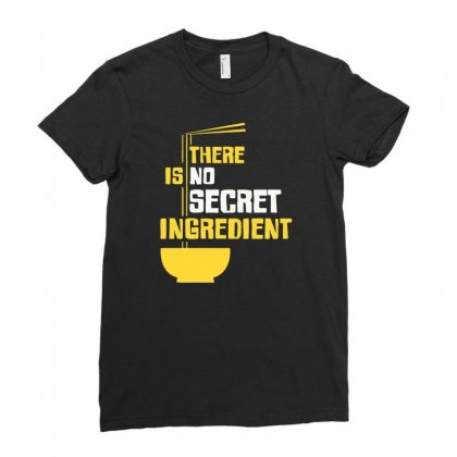 Secret Ingredient Ladies Fitted T-shirt Designed By Tonyhaddearts