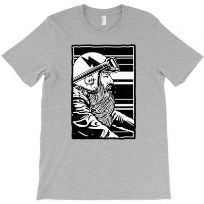 Beard And Ride T-shirt Designed By Tonyhaddearts
