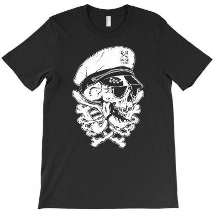 Death Skull Captain T-shirt Designed By Tonyhaddearts