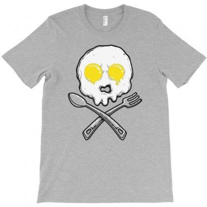 Eggskull T-shirt Designed By Tonyhaddearts