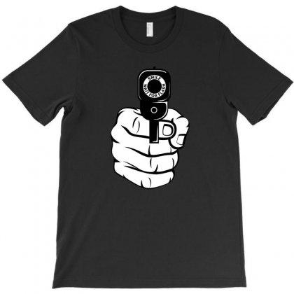 Smile Wait For Flash T-shirt Designed By Mdk Art