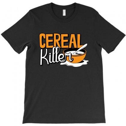 Cereal Killer T-shirt Designed By Mdk Art