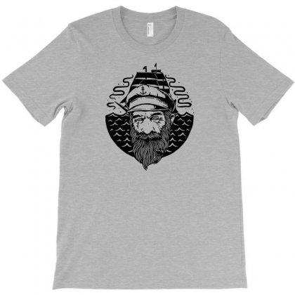 Old Helmsman T-shirt Designed By Tonyhaddearts