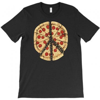 Peacezza T-shirt Designed By Tonyhaddearts