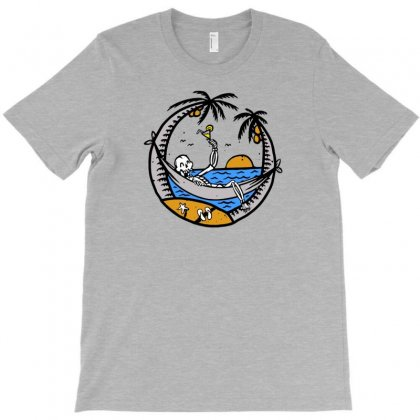 Skull Summer T-shirt Designed By Tonyhaddearts