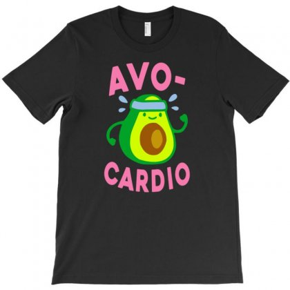 Avocardio T-shirt Designed By Tonyhaddearts