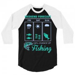 weekend fishing 3/4 Sleeve Shirt | Artistshot