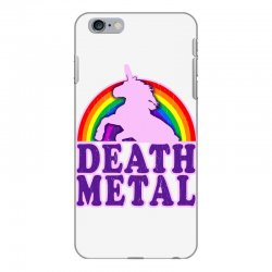 funny death metal unicorn rainbow iPhone 6 Plus/6s Plus Case | Artistshot