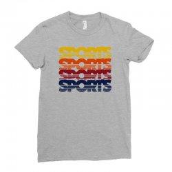 vintage sports Ladies Fitted T-Shirt   Artistshot