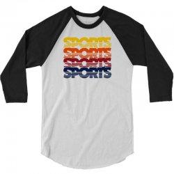 vintage sports 3/4 Sleeve Shirt   Artistshot