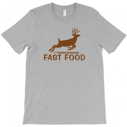 Fast Food Funny Hunter T-shirt Designed By Tonyhaddearts